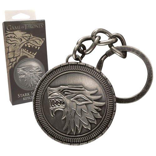 Juego de Tronos Llavero metálico Stark Shield