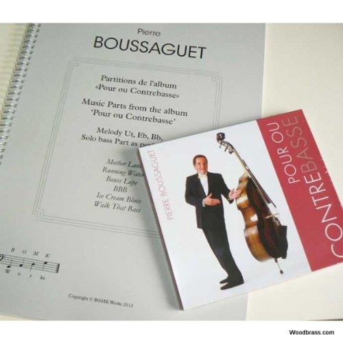 2Mc Editions BOUSSAGUET P. - POUR OU CONTREBASSE + CD Jazz&Blues Noten Kontrabass