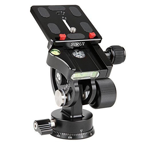Best Price SIRUI L-20S Panorama Tilt Head with Quick Release Plate on Line