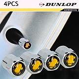 Dunlop Cilindro de Merker Juego Tapones de válvula Válvula de Auto, llantas Verano Marcadores Cubiertas para bicicleta