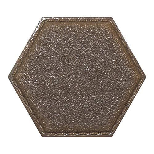 AFGD Wanddekoration Selbstdekorierte Wanddekoration Des Hexagons Für Hintergrundwand, Graue Fläche Des Raumes