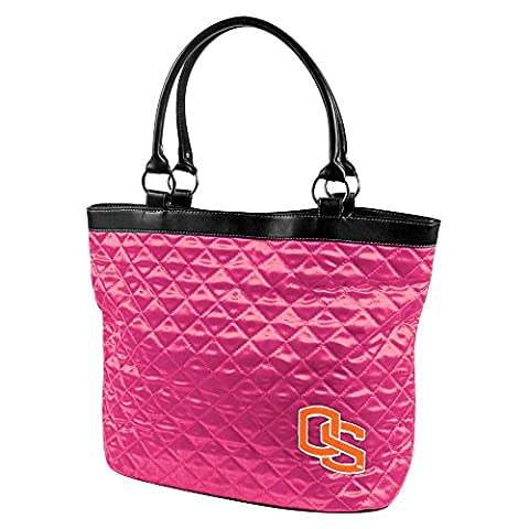 NCAA Oregon State University Pink Quilted Tote