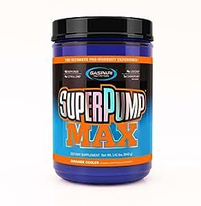 Gaspari Nutrition SuperPump MAX 640 g Orange Pre-Workout Drink Powder
