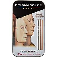 Sanford Wood Prismacolor Premier Colored Pencils 24 kg Portrait