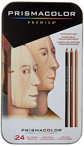 Sanford Lápices de colores Prismacolor Premier retratos, de madera, 24 unidades