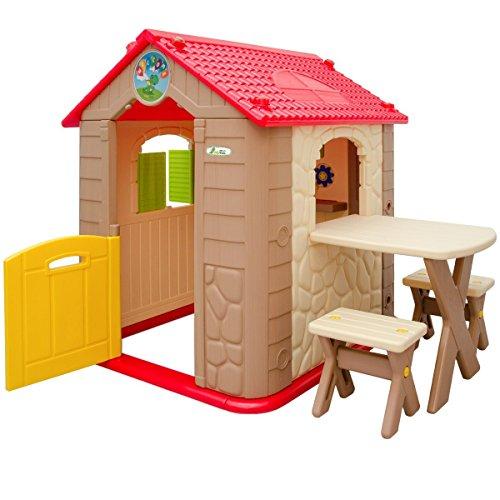 LittleTom Casetta gioco per bambini e bambine incl 1 ...