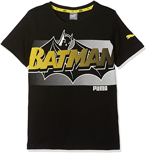 Puma Kinder Justice League Tee Shirt, Cotton Black, 164 -