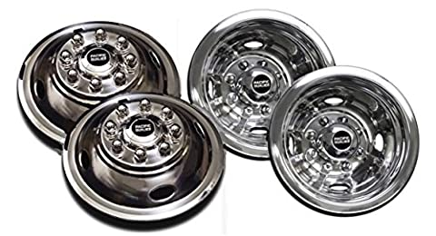 Pacific Dualies 49-1608 Polished 16 Inch 8 Lug Stainless Steel