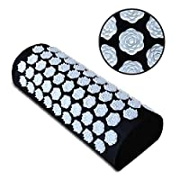 Benooa Acupressure Massage Pillow,Acupuncture Acupressure Pillow for Neck/Shoulder/Body Pain Treatment,Insomnia,Muscle Relaxation, Sciatica,Trigger Point Massage Therapy