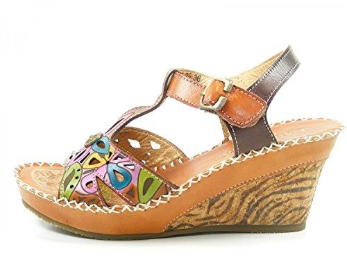 Laura Vita LMD1645-25 Balade 25 Sandales Mode Femme Braun