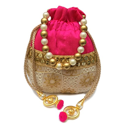 Shubh Shagun Rajasthani Potli Bag for women in wedding party or other...
