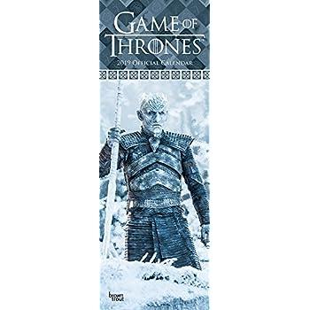 Game of Thrones 2019 Slim Calendar