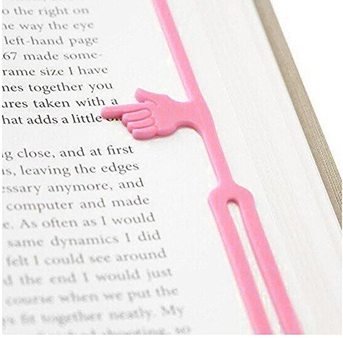 Lesezeichen Finger Silikon