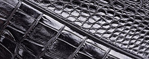 lpkone-Motif crocodile femelle baodan sac Messenger sac à main sac à bandoulière Black