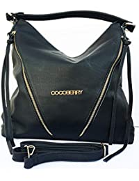 Cocoberry Multipurpose Premium Quality PU Leather Classic And Stylish Bag Tote Bag   Casual And Good Looking Shoulder...