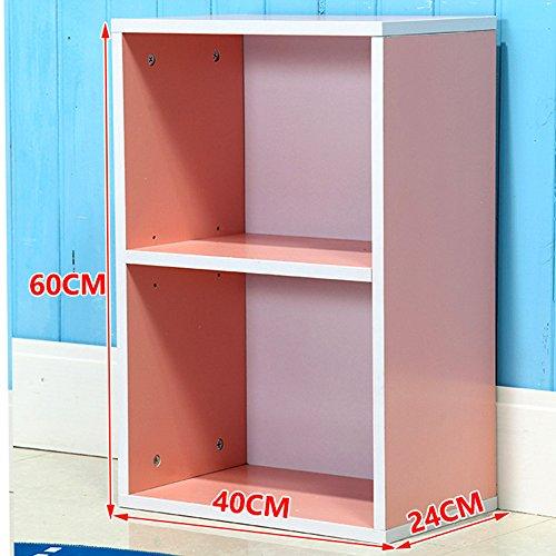 XIA Kind Bücherregal Einfache Lagerung Drei starten Verkauf Single verkauft nicht Regal Farbe optional Wohnzimmer ( Farbe : 5 ) (5 Regal-single)