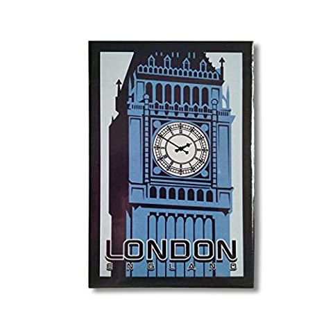 #1 Best-Selling - Big Ben London England Playing Cards - Fun For Whole Family - Keep Kids Entertained on Long Flights - London Souvenir - 100% Satisfaction GUARANTEED S01 - Orgoglio Holiday Card