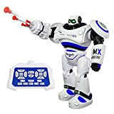 SGILE Ferngesteuerter Roboter mit Selbstausgleich und Motion Sensing Technologien Gleichgewicht LED Spielzeug für Kinder (Blau)