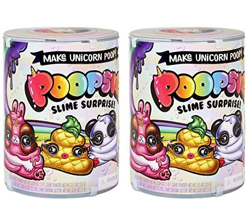 Poopsie Slime Licorne déjections Canines Surprise Lot Série 1(2-Pack Multipack)