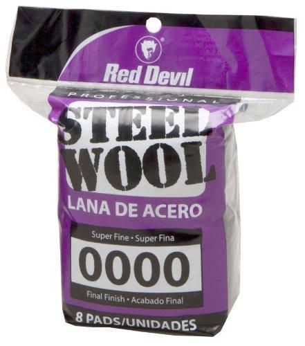 Preisvergleich Produktbild Red Devil 0320 8 Pack Nr. 0000 Stahlwolle