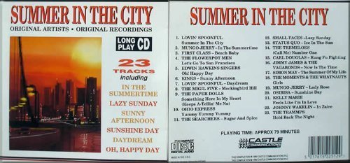 Lovin' Spoonful, Mungo Jerry, Flowerpot Men, Kinks, Paper Dolls, Status Quo.. by Summer in the City (23 tracks) (0100-01-01) (Mungo Status)