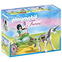 Playmobil 5446 Unicorn Carriage with Butterfly Fairy