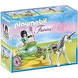 Playmobil - 5446 - Figurine - Fée Papillon Avec Calèche Et Licorne