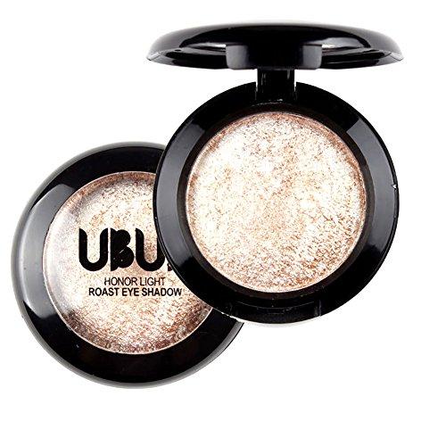 Unisky Eye Shadow Single Baked Powder Palette Metallic Shimmer Eyeshadow Cosmetic Makeup (Baked Eye Shadow)