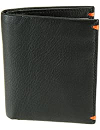 Visconti Mens Bifold Slim Leather Wallet For Credit Cards, Notes - Alpine AP60