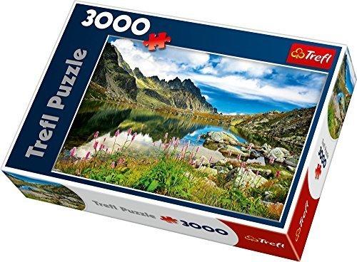 Trefl Pond in Tatras Mountains Slovakia Jigsaw Puzzle (3000 Piece) by Trefl