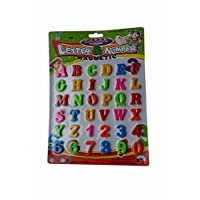 36pc Magnetic Letters and Numbers Fridge Magnets Kids Baby Alphabet and Numbers