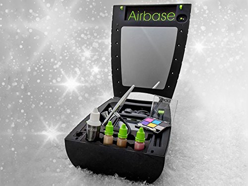 Airbase High-Definition Airbrush Make-Up: High Definition Home Use Airbrush Make-Up System