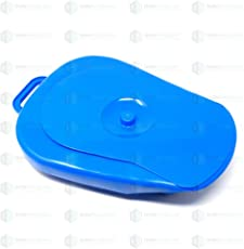 IndoSurgicals Bed Pan With Lid AUTOCLAVABLE Polypropylene For Unisex Adults