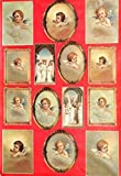 Decoupage Decopatch Papier Bogen sechzehn Engel in Antik als Motiv 48x68