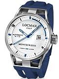 Locman 051100WHFBL0GOB - Orologio da polso uomo, caucciú, colore: blu