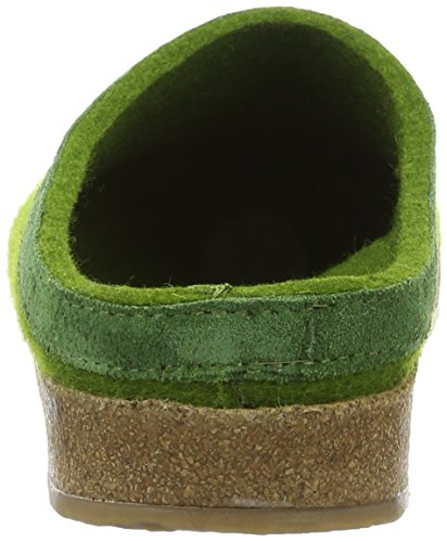 Haflinger - Torben, Pantofole A Casa, unisex Verde (Grasgrün)