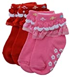Baby Bucket Soft Cotton Baby 2pc Socks S...