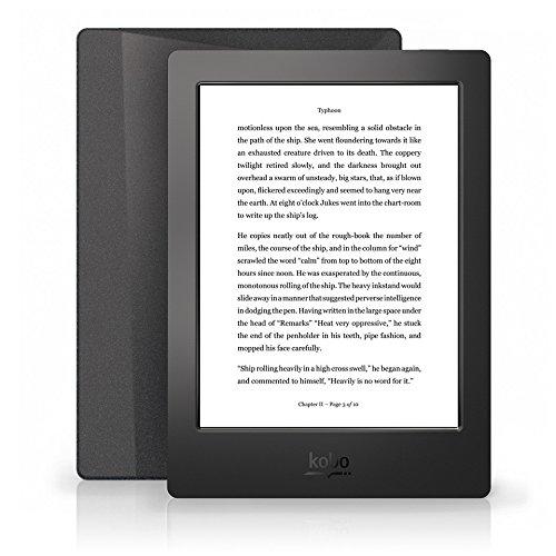Kobo Aura H2O Tablette tactile 6,8' (17,27 cm) (4 Go, 1 Port USB 2.0, Noir)