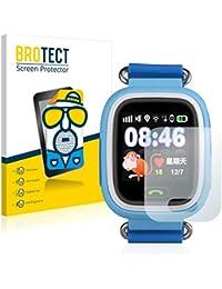2x BROTECT Matte Protector Pantalla para Wonlex GPS Watch GW900S Protector Mate, Película Antireflejos