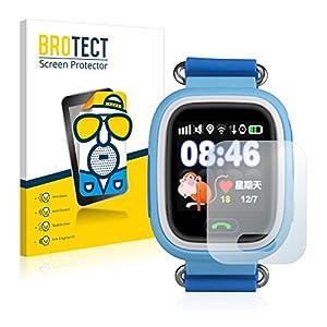 BROTECT Schutzfolie Matt für Wonlex GPS Watch GW900S [2er Pack] – Anti-Reflex