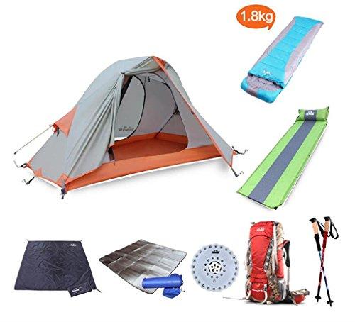 MLveen tenda di campeggio esterna del palo di alluminio stagioni unico castello equitazione ultraleggero impermeabile ( colore : 4# )