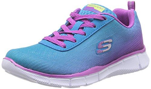 Skechers Equalizer, Chaussures de sports en salle fille Bleu (Blpr)
