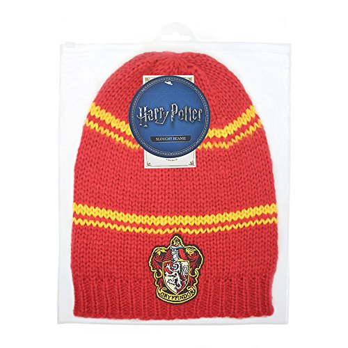 Harry-Potter-Beanie-Hat--Adult--Authentic-Harry-Potter-License-from-Cinereplicas--With-Zipper-Bag