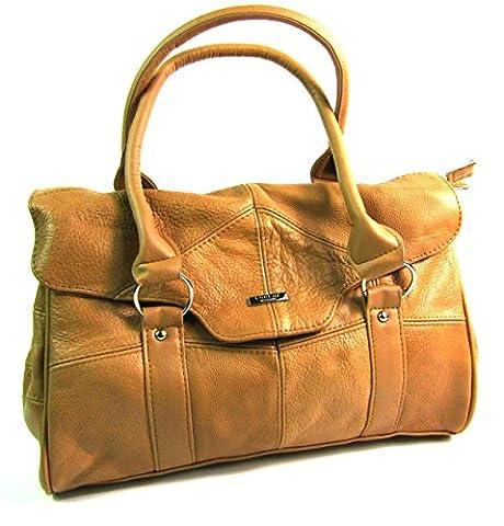 The Leather Emporium , Sac pour femme à porter à l'épaule Brun Brun