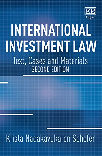 International Investment Law por Krista Nadakavukaren Schefer