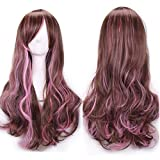 Rifuli® Mehrfarbige Perücke Klaue auf Pferdeschwanz Clip in Haarverlängerungen Gerade Gerade Langes Haarstück Styling Lange Haare Perücke