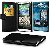 Fone-Case Black Samsung Galaxy S5 Neo caso cubierta trasera funda Carcasa, Case, Cover Monedero Ejecutivo Cubierta Estilo Hecho De cuero de la PU con ranuras sostenedor de la tarjeta de crédito 3, el protector de pantalla 1 y 1 código de color aluminio pluma ajustable