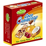 Natural's Dry Fruit Bars Coco Cranberry (Pack of 6)