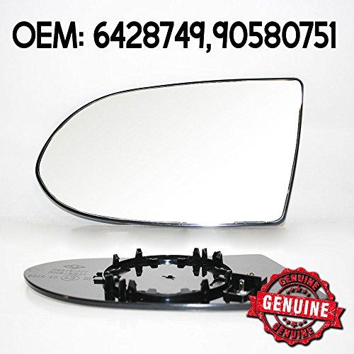 Miroir de verre gauche pour citroen c2 c3 Peugeot 1007 Miroir Verre Convexe chauffable