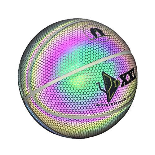 Grizack - Balón Baloncesto Luminoso Interior/Exterior